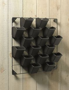 Vertical Wall Garden--just the thing for fresh herbs
