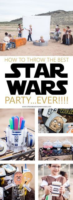 How to Throw the BEST Star Wars Party EVER! Printable Crush - Star Wars Bday - Ideas of Star Wars Bday - How to Throw the BEST Star Wars Party EVER! Get some great tips to throw a great party for The Force Awakens release. Birthday Cake For Husband, New Birthday Cake, Star Wars Birthday, 6th Birthday Parties, Boy Birthday, Birthday Ideas, Star Wars Baby, Theme Star Wars, Aniversario Star Wars