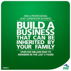 PME Business can be inherited by your family. Your introducer is - Eugene Grill. Introducer EO Number is - BX1000151501. #PME Business Opportuniy