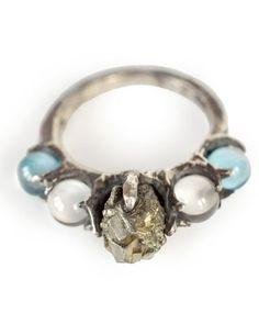 Pyrite Limarens Ring