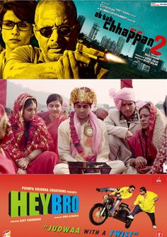 Today its ‪#‎StyleIndia‬ ‪#‎Bollywood‬ Friday, This week three wonderful movies are coming up,Which one you are going to Watch ‪#‎AbtakChappan2‬ A great serious movie of Nana Patekar  ‪#‎DumLagaKeHaisha‬ A funny romantic Movie ‪#‎AyushmannKhurrana‬ ‪#‎heybro‬ another funny movie of famous dance director. So Guys Which one You are going to Watch.    #styleindia ‪#Australia #bollywoodclothing #Melbourne