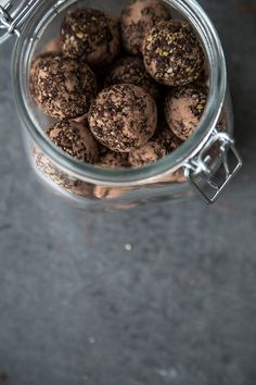 ARE YOU NUTS CHOCOLATE POWERBALLS _ A five minute recipe that is gluten free, dairy free, vegan and refined sugar free. These Fruit and Nut Chocolate Balls are great for guilt free snacking and also make excellent bring-along-gift.