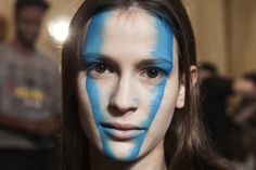 AW 14/15 Gold Label: Backstage Makeup by Val Garland for MAC Cosmetics