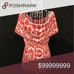 🌷NEW🌷I.N.C.~ OFF THE SHOULDER TOP INTERNATIONAL CONCEPTS~ Sashay into style in this Ikat Impression (reddish-pink/white) off-the-shoulder top.  With a sexy💋attitude, this top has lightweight comfort and graceful movement.  78% polyester 22% rayon.  FUN, FLIRTY AND FESTIVE❗❤ INTERNATIONAL CONCEPTS  Tops