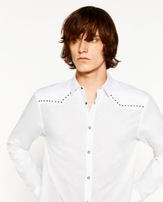 STUDDED SHIRT - Available in more colours