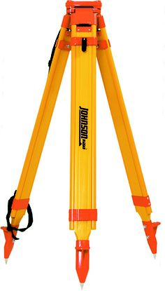 Johnson Level 40-6332 Heavy Duty Fiberglass Tripod