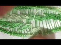 Macramè- punto ricamo foglie (3)/ Romanian point lace - YouTube Needle Tatting, Needle Lace, Bobbin Lace, Loom Crochet, Loom Knitting, Romanian Lace, Point Lace, Soutache Jewelry, Happy Girls