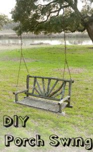 DIY Porch Swing and Porch Bed Ideas