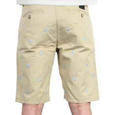 nouvelle collection printemps été 2014 short Hudson Outerwear - Star Slim Short Khaki
