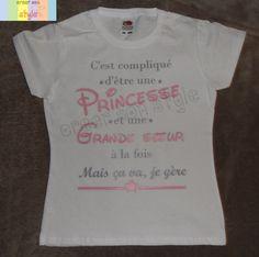 Papa pour être maman à être grossesse révéler couple Blanc T-shirts Set