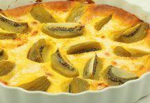 Clafoutis aux Kiwis et Petits Suisses WW Kiwi, Weigth Watchers, Apple Pie, Cake, Desserts, Food, Texture, Molten Lava Cakes, Skinny Kitchen