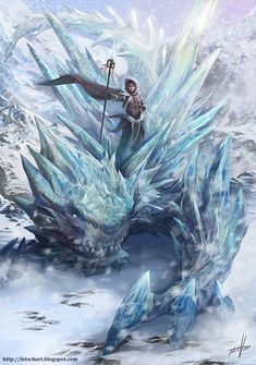 Water Mages can manipulate and control not only water in the liquid form but also when frozen – ice and snow.