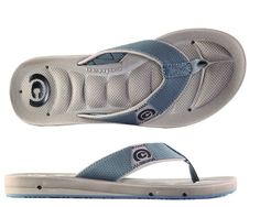 Cobian Men's Draino Sandals Clay Flip Flops