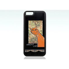 Orient cat iphone 6 case, funny cat iPhone 6s case, orange cat iPhone... (€15) ❤ liked on Polyvore featuring accessories and tech accessories