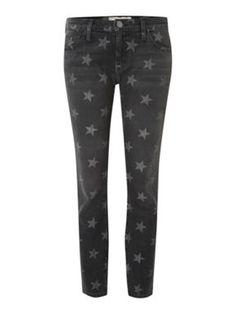 Current Elliott Star print jeans