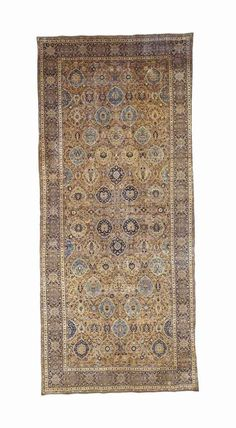 KIRMAN CARPET   SOUTHEAST PERSIA, EARLY 20TH CENTURY   Approximately 26 ft. 8 in. x 11 ft. 9 in. (813 cm. x 358 cm.)