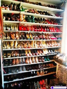 Dream closet!!! #shoes
