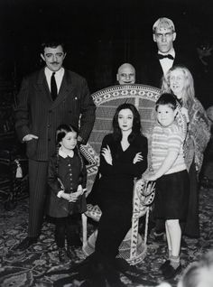 I just loved the Addams Family tv show...