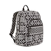 Campus Backpack in Clementine | Vera Bradley. Absolutely love this black and white one!
