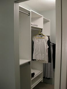 Peace Love Sweater: Martha Stewart Closet Organizer Review This Reviewer  Recommends Having White Melamine From