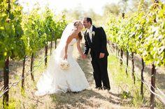 Photo mariage dans les vignes