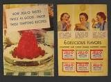 Image detail for -home vintage recipe booklets 1934 vintage jello recipe booklet