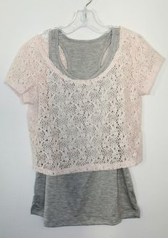 Camila Two-Fer Lace Top – Moon Child Boutique