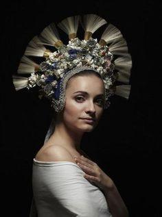 """""""Parta"""" headgear from Važec, Slovakia"""