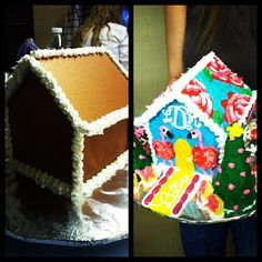 Lilly Pulitzer Gingerbread House. The Pelican Girls spy A Little Leg, First Impression...