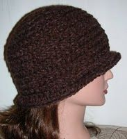 Basic cloche hat free #crochet pattern