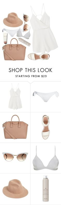 """let's run away"" by alittlebitidiotic ❤ liked on Polyvore featuring MANGO, Canvas by Lands' End, Givenchy, BEA, Gucci, ONIA, RHYTHM, Drybar and roadtrip"