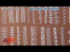 Warli Painting Borders (#1) - JK Arts 547 - YouTube