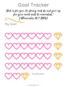 Use this goal tracker as a visual reminder of your goal and practical tracker of your progress. Goal Tracking, Spring Cleaning, Free Printables, Goal Charts, Goals, Organization, Soul Food, Organize, Blog