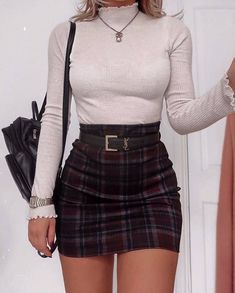 Top 25 Preppy Style and Outfits To Look Great This Fall - Mode Party Outfits For Women, Cute Casual Outfits, Fall Fashion Outfits, Girly Outfits, Mode Outfits, Look Fashion, Spring Outfits, Winter Outfits, Spring Dresses