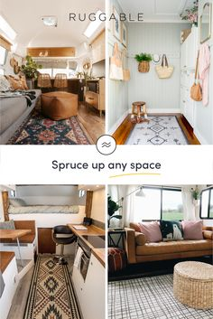 Our beautiful, machine washable rugs can make a big impact on any small space. Find the right rug for your home! Machine Washable Rugs, French Country Kitchens, Shabby Chic Kitchen, Home Design Plans, Modern House Design, Apartment Living, Home And Living, Living Room, Room Inspiration