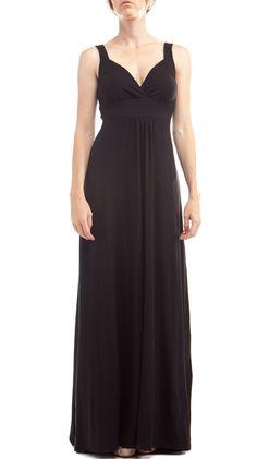 Augustine Dress, Black by EcoSkin
