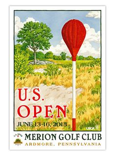 2013 U.S. Open Official Poster, SKU: USGANV021100