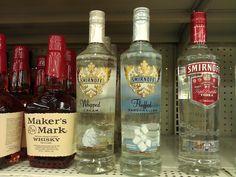 Marshmallow vodka.