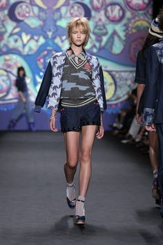 Anna Sui RTW Spring 2015 - Look 4