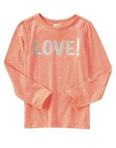 Sparkle Love Tee at Crazy 8