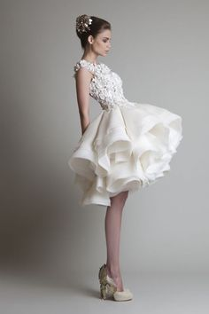 Love the skirt on this dress!