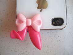 earphone cap,Dust plug for Iphone 4 / 4S, 5 bow cap, earphone cap, in front of phone