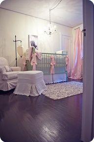 Cutest girl nursery