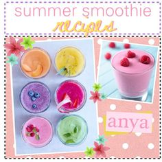 summer smoothie recipes!