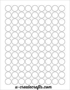 Wl  Circle Labels Perfect For Hersheys Kisses