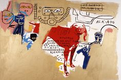 Andy Warhol, Jean-Michael Basquiat: Dog