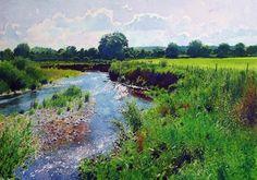 Richard Thorn (British, 1952-) > The Singing Meadow | Watercolour, 46 x 63 cm