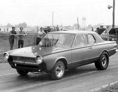 Dodge Dart drag car.