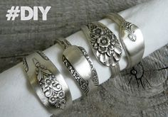 An alternative use of your old cutlery.  DIY- Do It Yourself