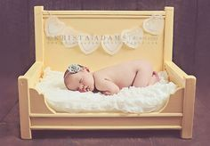 Newborn Photography Prop Bed  Daybed or Large by BeansInaBucket, $125.00